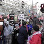 Protest STOP 5G Bucuresti 25.01.2020