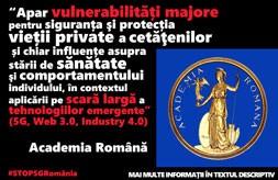 Academia romana avertizeaza in privinta pericolului 5G