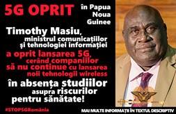 Pentru sanatate Papua Noua Guinee opreste 5G
