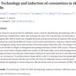 Studiu 5G induce la nivelul pielii Virusii Corona