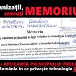 Semneaza Memoriul ca Organizatie