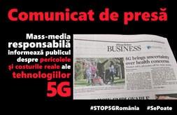 29.07.2021- Memoriu STOP 5G BRAȘOV depus primarului Allen Coliban