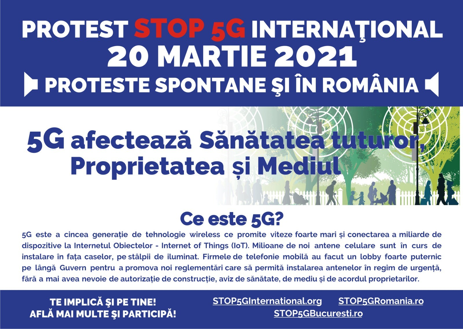 20.03.2021 PROTEST MONDIAL STOP 5G