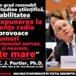 PORTIE Probabilitate mare de tumori la expunerea la radiatii de radio frecventa