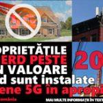 5G scade valoarea proprietatii cu petse 20 de procente